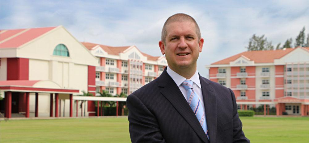 Dr Moore Headmaster
