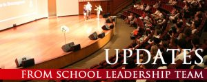 Image banner for School Leadership Team's updates