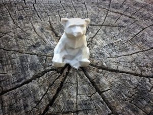 The Bromsgrove Bear in 3D printing