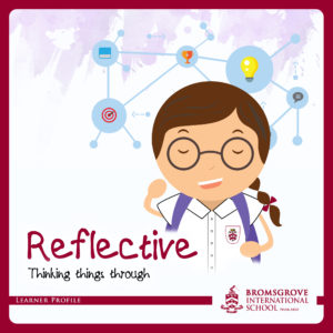 You are REFLECTIVE