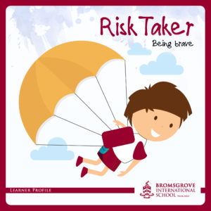 You are a RISK-TAKER